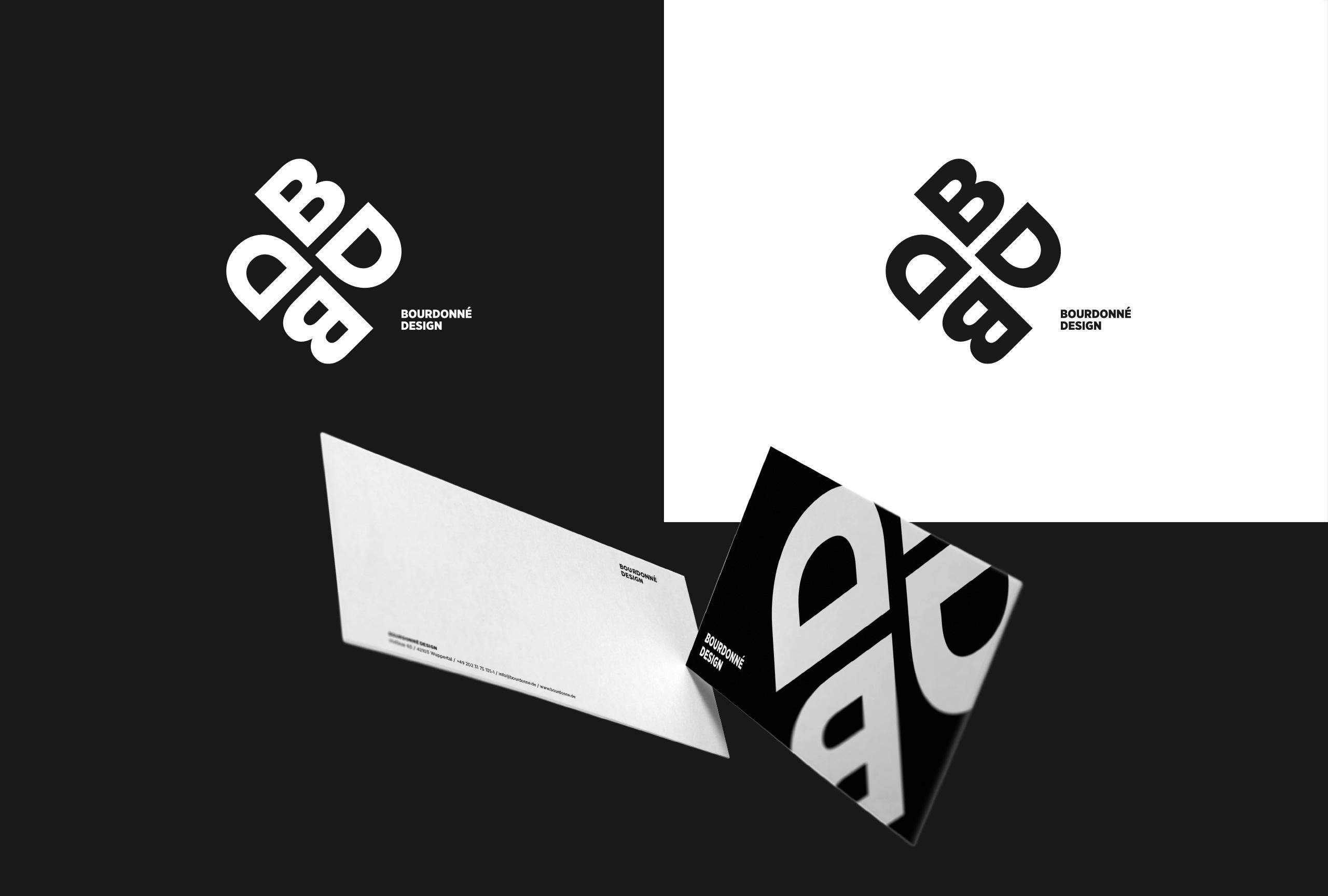 Bourdonné Design Corporate Design Geschäftsausstattung Logo