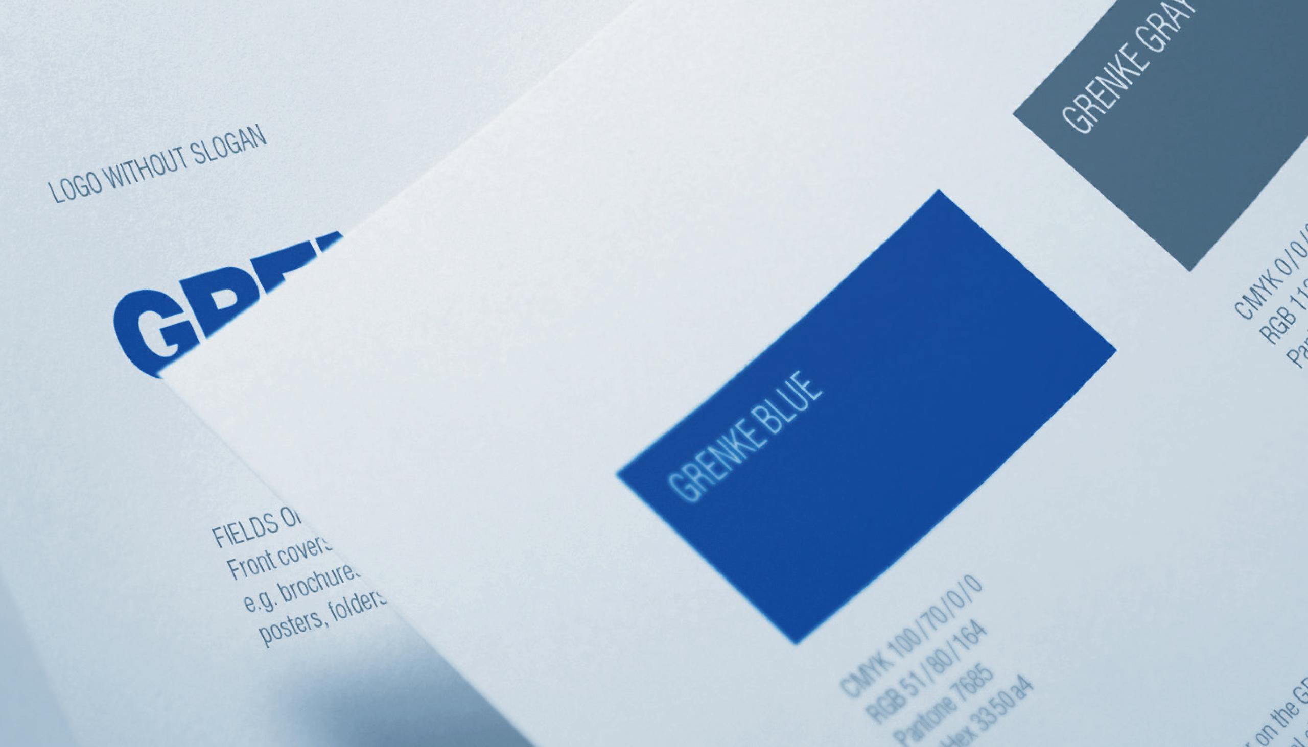 Bourdonné Design Grenke Corporate Design Manual