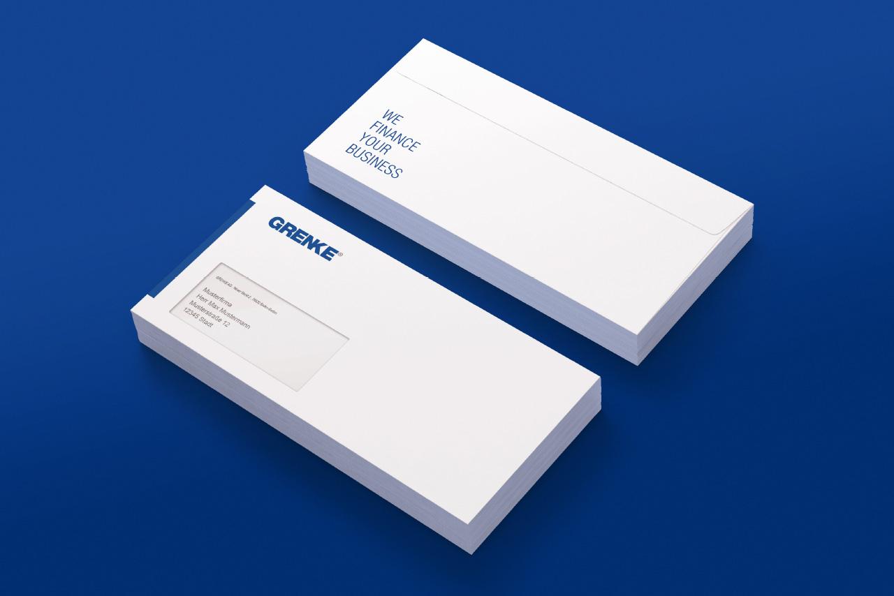 Bourdonné Design Grenke Geschäftsausstattung