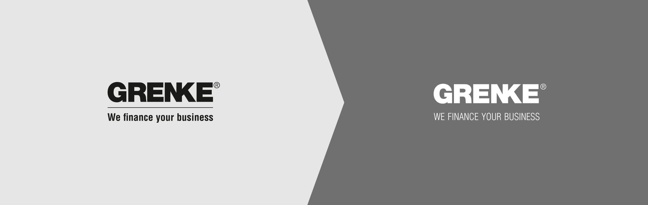 Grenke Logo vorher nachher Bourdonné Design