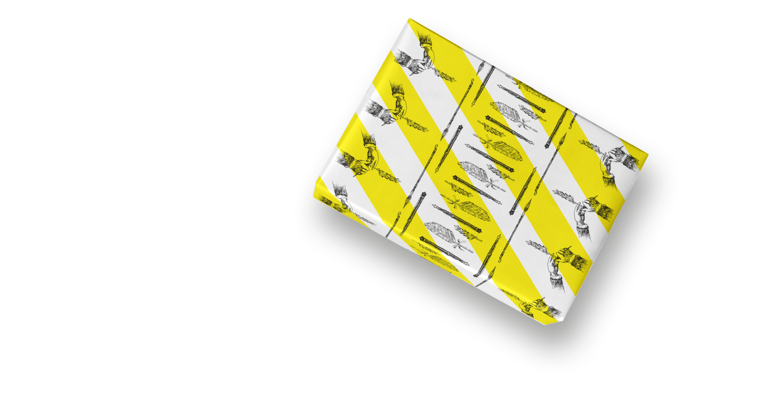 Ley + Wiegandt Geschenkpapier Geschenk Bourdonné Design