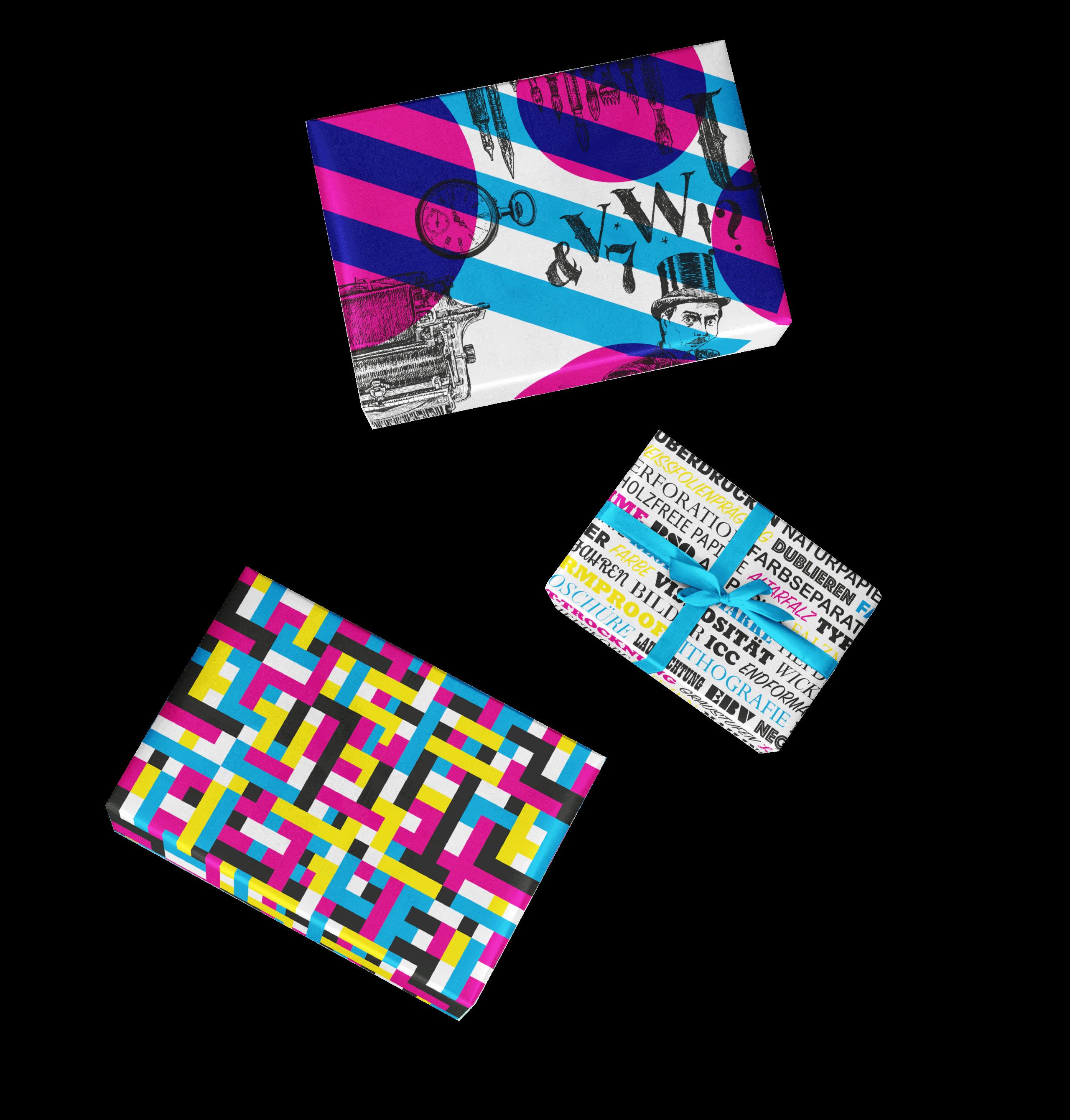 Ley + Wiegandt Geschenkpapier Geschenke Bourdonné Design