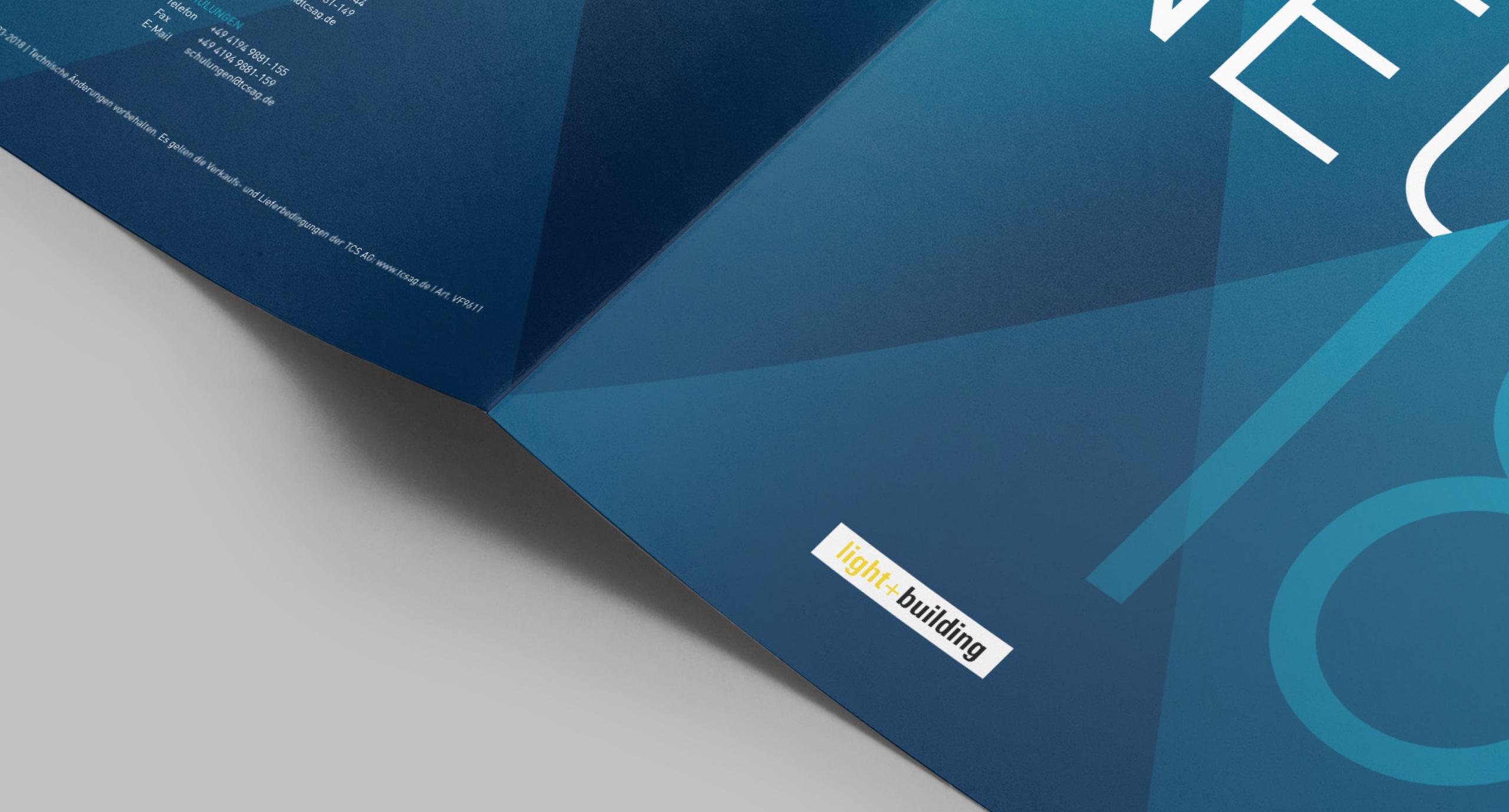 TCS Neuheiten Broschüre Bourdonné Design