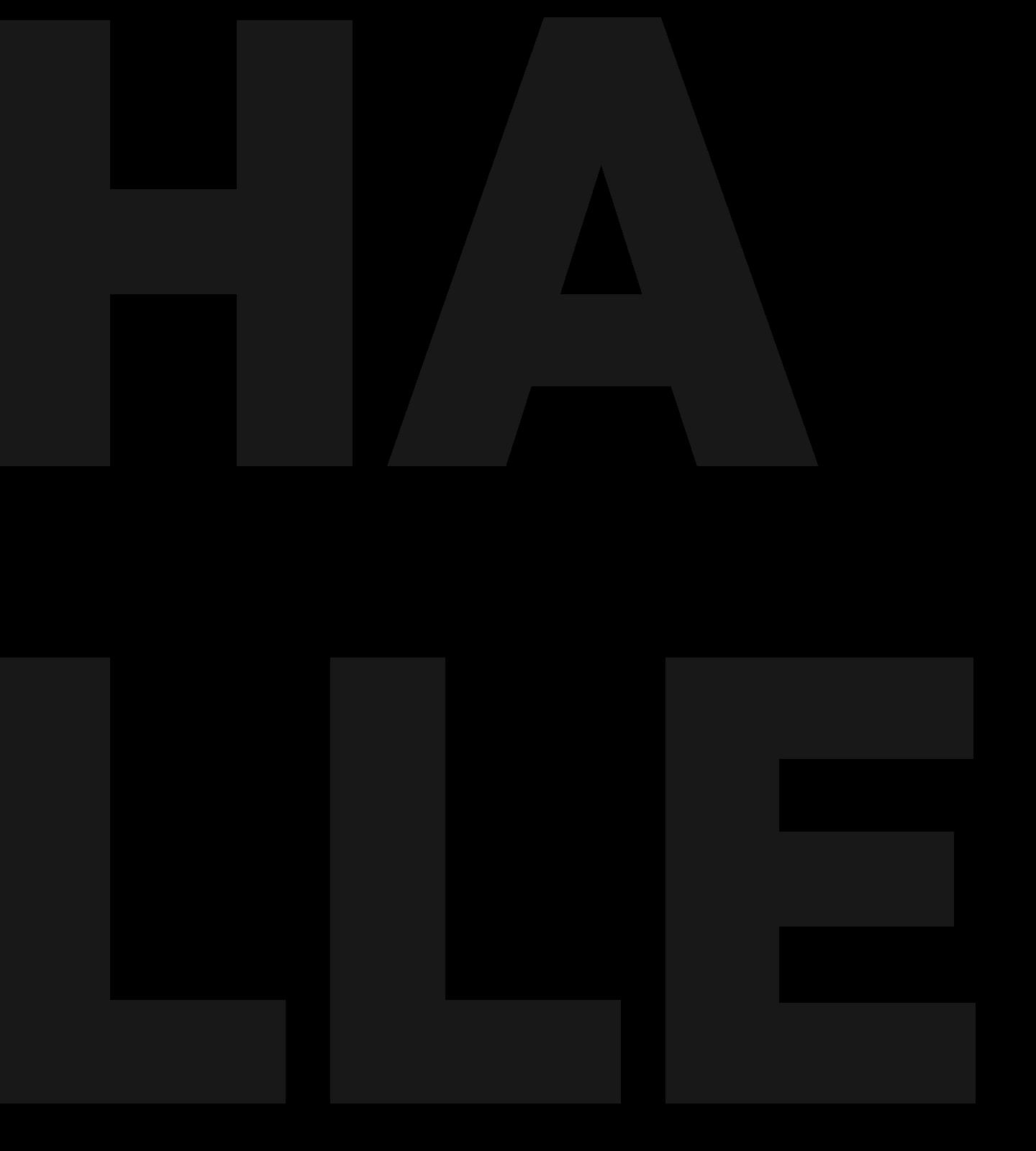 TCS Neuheiten Broschüre Halle Bourdonné Design